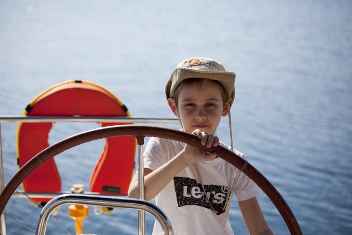 Яхтенный тур с детьми